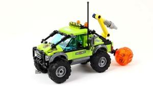 玩具组装火山勘探卡车 激发冒险欲望