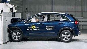 全新起亚Niro混动SUV E-NCAP碰撞测试