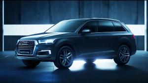 奥迪Q7 e-tron 中大型插电式SUV