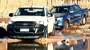 全新福特Ranger皮卡 越野能力测试