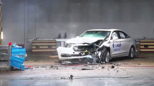 C-NCAP碰撞测试 长安福特金牛座获5星