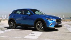 马自达CX-3小型SUV 完美诠释动感