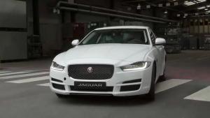 全新捷豹XE 高密度铝车身生产过程揭秘