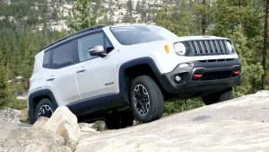 2016款Jeep自由侠Trailhawk版 强悍爬山