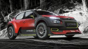 2017款雪铁龙C3 WRC赛车 帅到没朋友