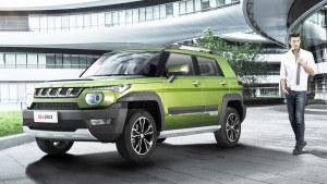 全新款北京BJ20城市SUV 搭载1.5T发动机