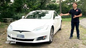 试驾特斯拉Model S 90D 过弯操控性体验