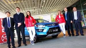 北汽绅宝X25小型SUV 进军海外市场