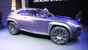 2016巴黎车展 雷克萨斯UX概念车