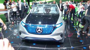 2016巴黎车展 奔驰EQ概念车正式亮相