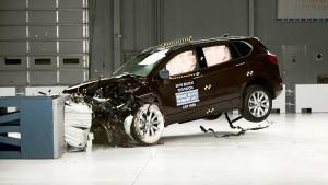 2016款别克昂科威 美国IIHS正面40%碰撞