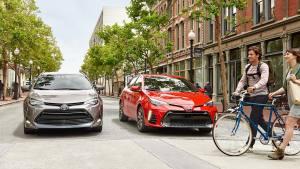 2017款丰田卡罗拉家轿 安全性能升级