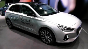 2016巴黎车展 2017款现代i30登场