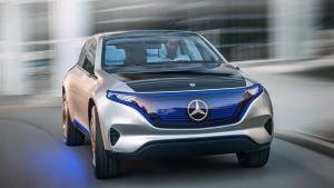 奔驰EQ概念车发布 续航里程500公里