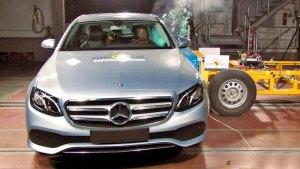 全新奔驰E级轿车 E-NCAP碰撞测试