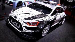 2017款现代i20 WRC 改善空气动力学设计