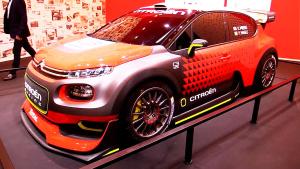 2017款雪铁龙C3 WRC 搭载全新发动机