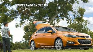 2017款科鲁兹掀背车 容积可提升至1189L