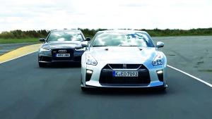 日产GT-R 对比全能杀手奥迪RS6 Avant