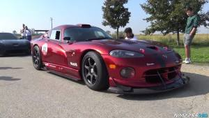 道奇蝰蛇GTS-R纪念版 V10引擎声浪震撼