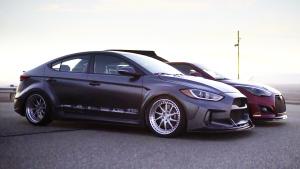 2016年美国汽车改装展 现代汽车阵容