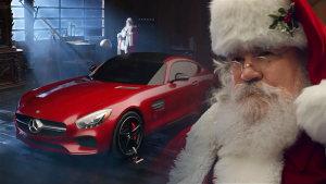 奔驰AMG GT领衔 圣诞老人欢乐送车队