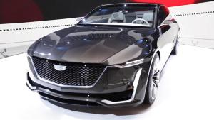 凯迪拉克Escala概念车 未来设计新趋势
