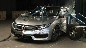 本田思域Coupe NHTSA侧面碰撞测试
