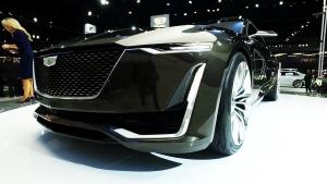 未来旗舰 凯迪拉克Escala概念车