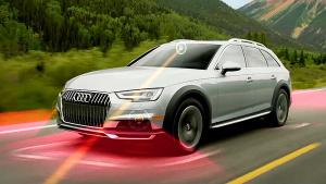 2017款奥迪A4 allroad 驾驶辅助详解
