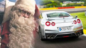 新款日产GT-R 化身圣诞老人帅气座驾