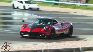 帕加尼Huayra赛道展示 搭双增压V12引擎