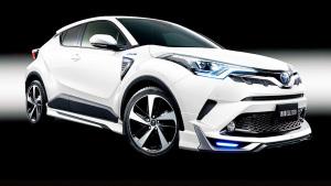 跨界小型SUV丰田C-HR 原厂实用附件展示