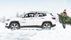 2017款Jeep国产指南者 展现雪地模式