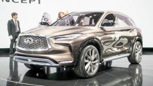 2017北美车展 新款英菲尼迪QX50概念车