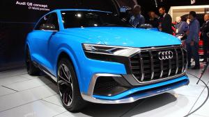 2017北美车展 全新奥迪Q8概念车发布
