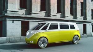 大众I.D.BUZZ概念车 采用6座布局