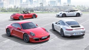 全新保时捷911 GTS 整车底盘降低10mm