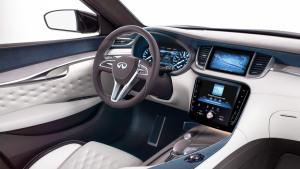 新款英菲尼迪QX50概念车 外观内饰展示