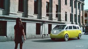 大众I.D. BUZZ概念车 电动时代新生活