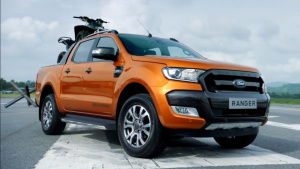 福特Ranger皮卡 挑战高强度载重加速