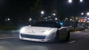 改装法拉利458 Italia 午夜漫步街头