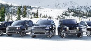雪山越野 Jeep自由侠引领家族出动