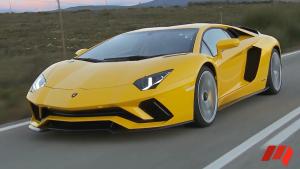 兰博基尼Aventador S 匹配7速ISR变速箱