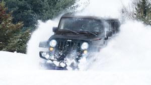 告别宅男生活 Jeep牧马人带你征服雪地