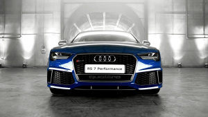 奥迪RS7 Sportback 配全LED矩阵式大灯