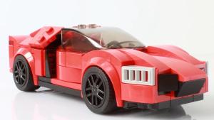 积木组装神还原 《速7》超级跑车莱肯