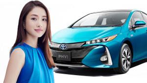 全新丰田普锐斯PHV 配备太阳能充电系统