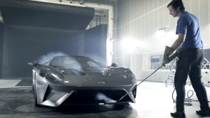 福特GT风洞实验测试 完美空气学动力