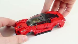 法拉利LaFerrari超跑 积木组装速度惊人